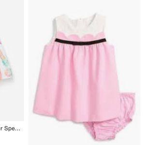 Kate Spade Baby Onesie Jillian Dress